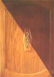 il est possible de préserver les textures et les nervures du bois franc